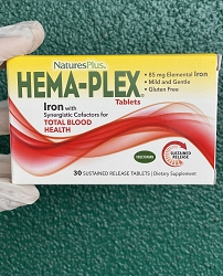 Iron - Hema Plex 30 Tablets